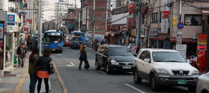 Южная Корея, часть III. Квартал Itaewon