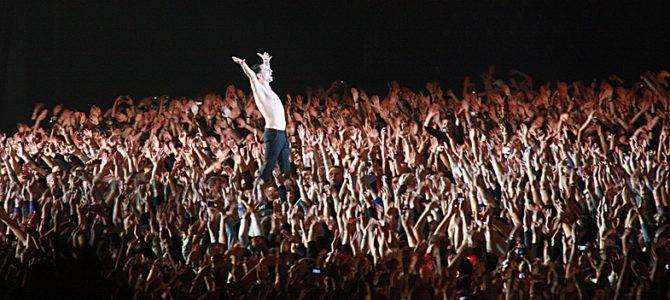 Depeche Mode, Tour of the Universe, СК Олимпийский