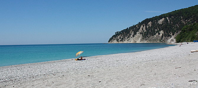 Черное море, бухта Инал