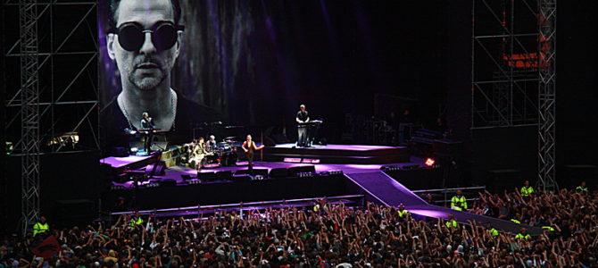 Концерт Depeche Mode 2013