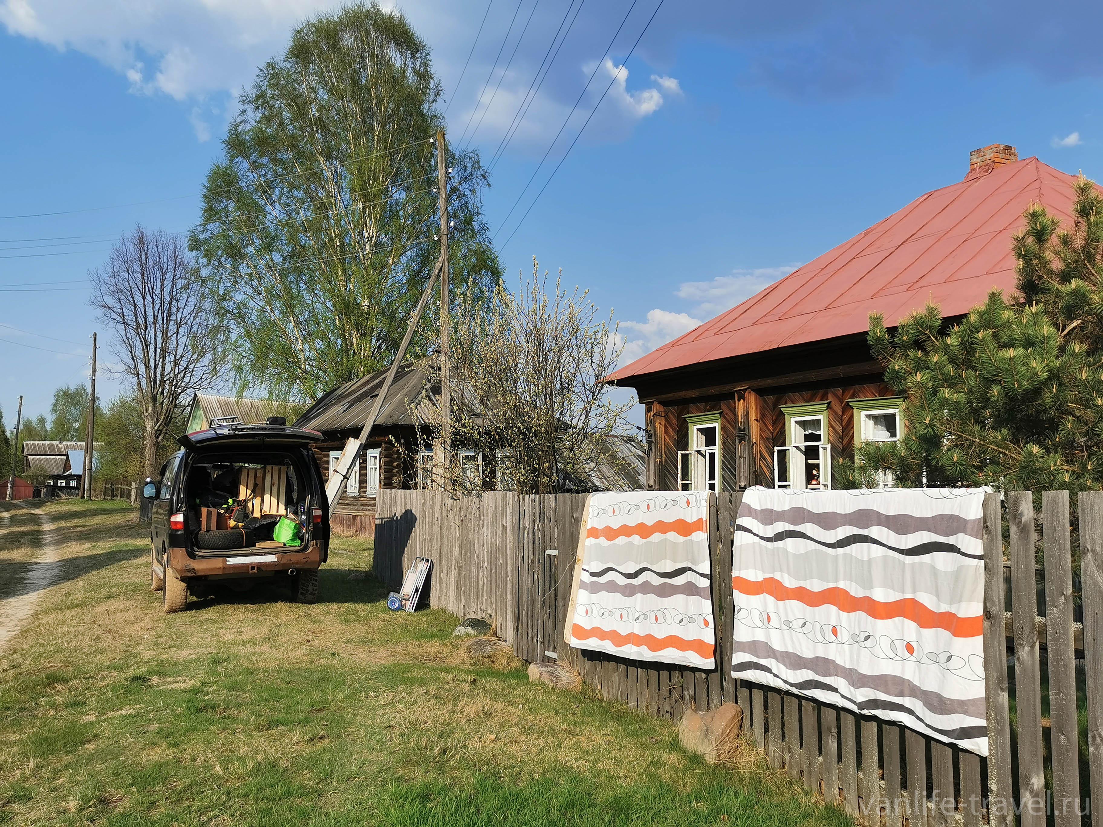 Весна в деревне Макаршино